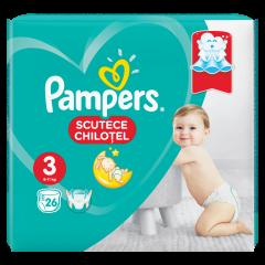 Scutece chilotel Pampers Pants, Marime 3, 6-11 kg, 26 buc