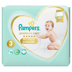Scutece-chilotel Pampers Premium Care Pants, Marime 3, 6-11 kg, 28 buc
