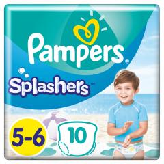 Scutece Pampers Splashers Marimea 5-6, 14+ kg, 10 buc