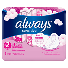 Absorbante Always Ultra Sensitive Super Plus 8buc