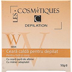 Ceara calda depilatoare, Les Cosmetiques, 50g