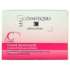 Crema decoloranta par fata si corp, Les Cosmetiques, 30g