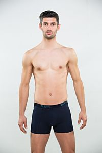 Boxeri barbati bleumarin XL 201