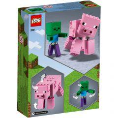 LEGO Minecraft BigFig Zombie 21157