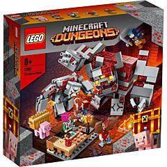 LEGO Minecraft Batalia pentru piatra rosie 21163