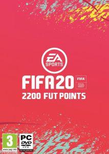 FIFA 20 2200 FUT Points pentru PC