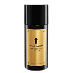 Deodorant spray, Antonio Banderas Golden Secret, 150 ml