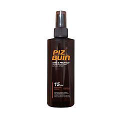 Ulei spray pentru bronzare accelerata si protectia bronzului Piz Buin, SPF 15, 150 ml