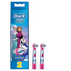Rezerva periuta de dinti electrica pentru copii Oral-B EB10-2 Frozen 2buc