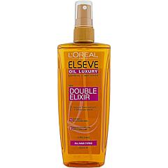 Balsam spray bi-fazic pentru par uscat, L'Oreal Paris Ulei Extraordinar Double Elixir, 200ml