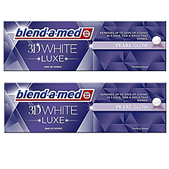 Pachet Promo: 2 x Pasta de dinti Blend-a-med 3D White Luxe Instant Pearl Glow, 75 ml