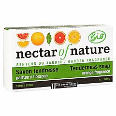 Sapun solid, Les Cosmetiques Bio, portocale, 100g