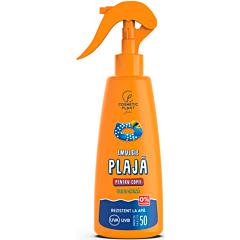 Emulsie plaja rezistenta la apa pentru copii cu ulei de catina, SPF50, Cosmetic Plant, 200 ml