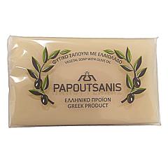 Sapun natural alb cu ulei de masline Papoutsanis 125g
