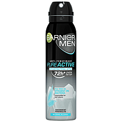 Deodorant antiperspirant spray pentru barbati, Garnier Mineral Pure Active, 150ml
