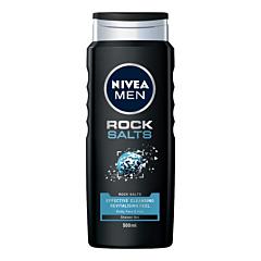 Gel de dus pentru barbati Nivea Rock Salts, 500ml