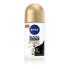 Deodorant roll-on Nivea Black&White Silky Smooth, 50ml
