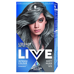Vopsea de par Live Color Urban Metallics U72 Dusty Silver
