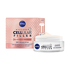 Crema de zi Nivea Hyaluron Cellular Filler and Elasticity, FPS 30, 50 ml
