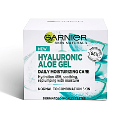 Gel hidratant cu acid hialuronic si extract de aloe vera organica, Garnier 50ml