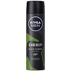 Deodorant spray pentru barbati Nivea Men Deep Amazonia 150ml