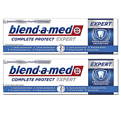 Pachet Promo: 2 x Pasta de dinti Blend-a-Med Complete Protect Expert, 75 ml