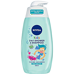 Gel de dus si sampon pentru copii Nivea Mar Magic 500ml