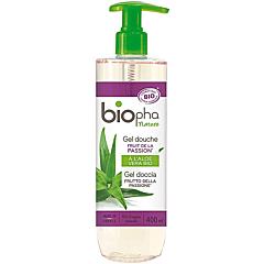 Gel de dus Biopha Bio fructul pasiunii, 400ml