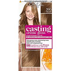 Vopsea de par semi-permanenta fara amoniac, L'Oreal Paris Casting Creme Gloss, 700 Blonde, 180ml