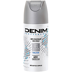 Deodorant spray pentru corp Denim Performance Evolution 0% aluminiu 150ml