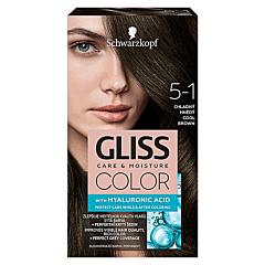 Vopsea de par Schwarzkopf Gliss Color  5-1 Saten Rece, 142ml