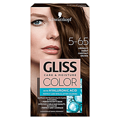 Vopsea de par Schwarzkopf Gliss Color  5-65 Saten Castaniu, 142ml