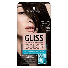 Vopsea de par Schwarzkopf Gliss Color 3-0 Saten intens, 142ml