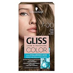 Vopsea de par Schwarzkopf Gliss Color 7-00 Blond Inchis, 142ml