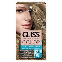 Vopsea de par Schwarzkopf Gliss Color 8-0 Blond Natural, 142ml
