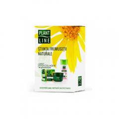 Set cadou crema de fata Plant Line 45ml si apa micelara 3in1 Plant Line 400ml