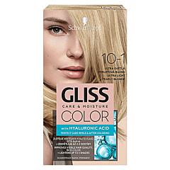 Vopsea de par Schwarzkopf Gliss Color 10-1 Blond Perlat Ultra Deschis, 142ml