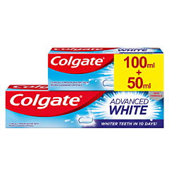 Pasta de dinti Colgate Advanced White 100ml+50ml Gratis