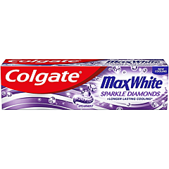 Pasta de dinti, Colgate Max White Sparkle Diamonds, 75ml