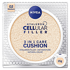 Crema coloranta hidratanta Cushion 3in1 Nivea, nuanta medie, 15 g