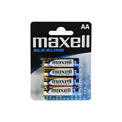 Set 4 baterii in blister CZ R6 AA Maxell