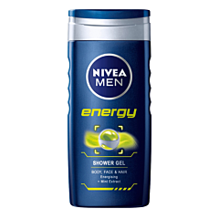 Gel de dus Nivea Men Energy 250ml