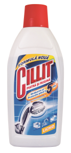 Detergent contra pietrei si ruginii Cillit, 450 ml