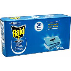 Pastile laminate anti-tantari Raid 30 buc