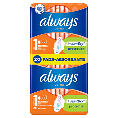 Pachet Duo absorbante Always Ultra Normal Plus 20buc
