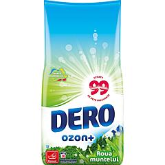 Detergent manual pudra, Dero Ozon+ Roua muntelui, 36spalari, 1.8kg