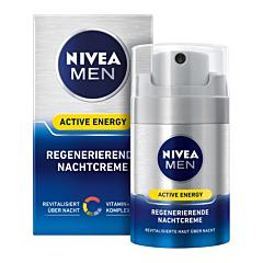 Crema de fata revitalizanta pentru barbati Nivea Q10 for Men, 50ml