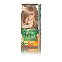 Vopsea de par permanenta, Garnier Color Naturals, 8.1 Blond Deschis Cenusiu, 110 ml