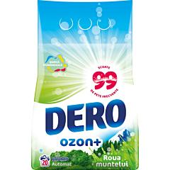 Detergent automat pudra, Dero Ozon+ Roua muntelui, 20 spalari, 2 kg