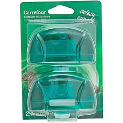 Rezerva odorizant WC lichid parfum pin Carrefour 2x55ml